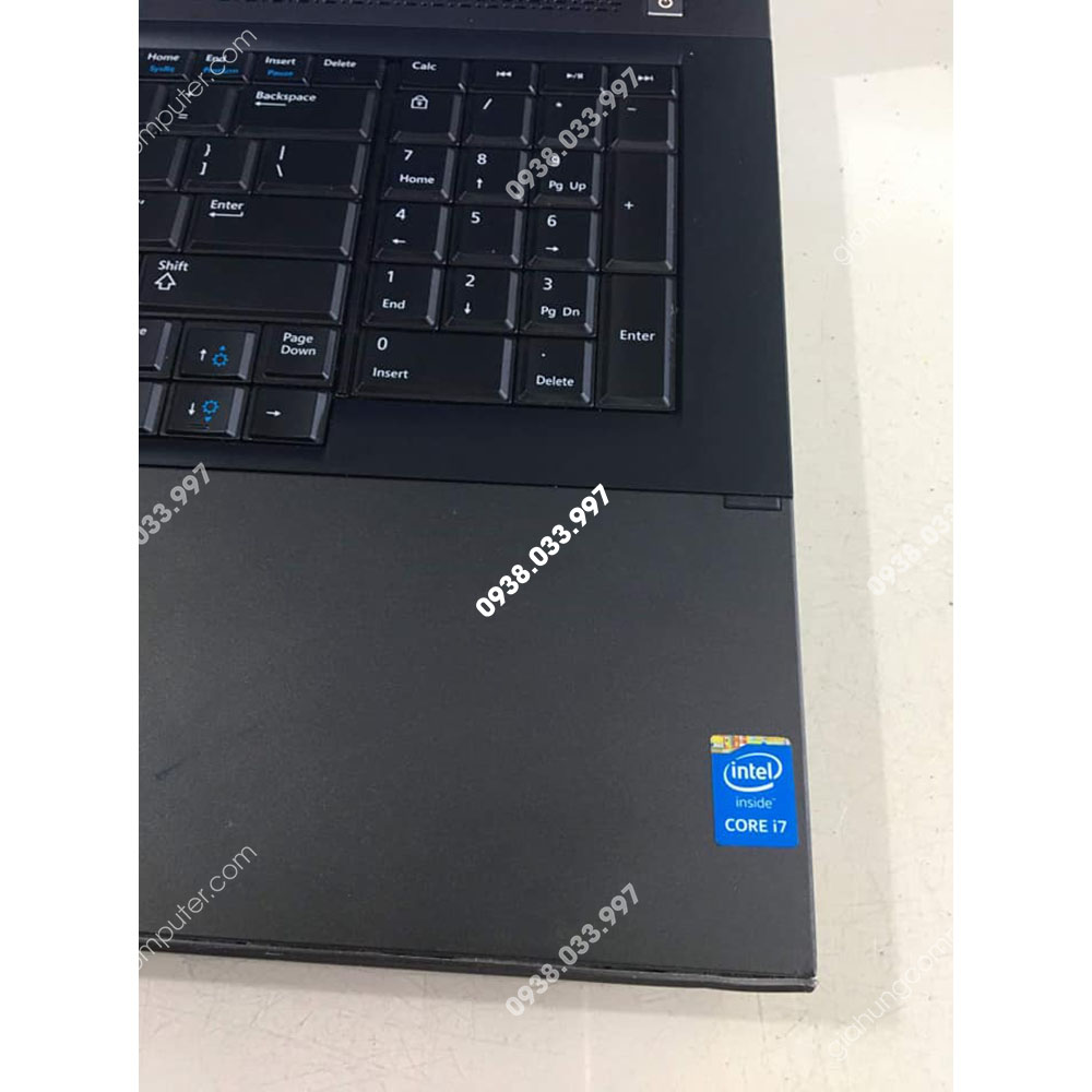 Laptop cũ Dell Precision M6800 Core i7 4810MQ RAM 16GB SSD 256GB K3100 HDD 1.000Gb 17.3''- GH339